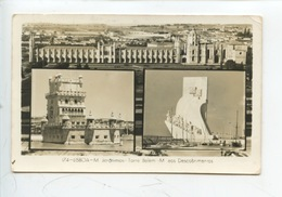 Portugal : Lisboa Multivues - M Jeronimos - Torre Belem - M Aos Descobrimentos - Lisboa