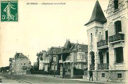 Cpa LA BAULE 44 L Esplanade Vers La Poste - La Baule-Escoublac