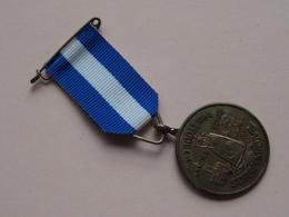 Broederschap BOOM - O.L.VR. SCHERPENHEUVEL 1810 - 1984 ( Details Zie Foto's : 3 Cm. - 10,5 Gram ) ! - Fichas De Municipios