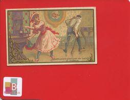 VERTUS GROSSE BOTTE JANNIN FEICHTER  Chaussures Chromo Danel Circa 1890 Pierrot Colombine Bouteille Vin - Chromos
