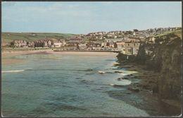 General View, Perranporth, Cornwall, 1966 - Postcard - England