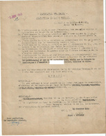 COMMUNE DE MONFLANQUIN : AVIS DE RECHERCHE PAR LA BRIGADE DE MONFLANQUIN D UN MILICIEN EN FUITE - Unclassified