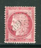 Y&T N°57, PC Des GC 4199 - Storia Postale (Francobolli Sciolti)