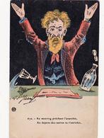 CPA Politique Caricature Satirique Anarchie Anarchiste Illustrateur AP. JARRY - Satiriques