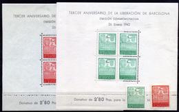 2319- España Barcelona Nº 38/9, SH 38/39 - Barcelone
