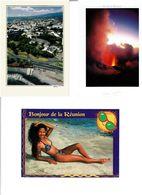 974 / REUNION /  Lot De 43 Cartes Postales Modernes Neuves - Cartes Postales