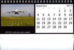 Calendrier 2017 Aéroport Nantes Atlantique Par Lohat - Calendars