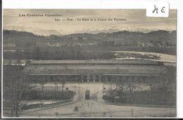 65 Haute Pyrénnées  LOURDES La Gare Tramway - Lourdes