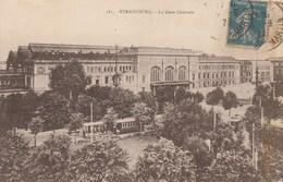 Dép. 67 - Strasbourg - La Gare Centrale.1922. Ed. Bergeret, Strasbourg N° 281 - Strasbourg