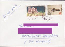 ITALY ITALIA COVER POSTED TO ARTSAKH NAGORNO KARABAKH ARMENIA - 1946-.. Republiek