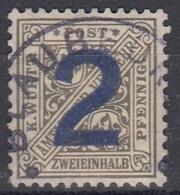 WURTTEMBERG 257,used,falc Hinged - Wurttemberg