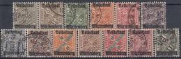 WURTTEMBERG 258-270,used,falc Hinged - Wurttemberg