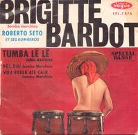 45 TOURS ROBERTO SETO VOGUE EPL 7876 BRIGITTE BARDOT / TUMBA LE LE + 2 - Vinyl Records