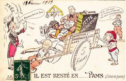 CPA Politique Caricature Satirique COMBES CLEMENCEAU POINCARRE Franc-Maçon Masonic Illustrateur - Satiriques