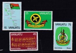 VANUATU  :  Série  631 à 634  Neuf XX - Vanuatu (1980-...)