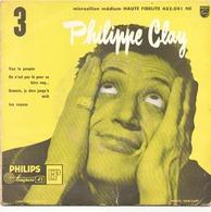 45 TOURS PHILIPPE CLAY PHILIPS 432041 VIVE LA POUPEE / ON N EST PAS LA POUR SE FAIRE ENG... + 2 - Vinyl Records