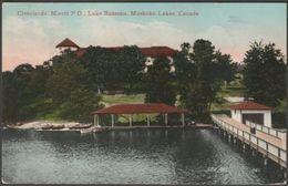 Clevelands House, Minett, Lake Rosseau, Ontario, 1908 - Micklethwaite Postcard - Muskoka