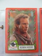 Cartes Film Robin Hood(w Kevin Kostner) Set Incomplet 50/55 Cartes Plus Les 9 Stickers) - Cinema & TV