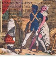 45 TOURS COLETTE RENARD VOGUE EPL 7441 CHANTE LES CHANSONS GAILLARDES DE LA VIEILLE FRANCE - Vinyl Records