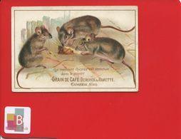 DUROYON RAMETTE  Jolie Chromo SOURIS RAT FROMAGE - Chromos