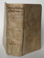 Pétrone (Goldast) – Satyricon 1610 - Livres, BD, Revues