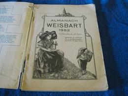 Weisbart's Almanach 1952 Allemand/1019-22 38at1 - Calendars