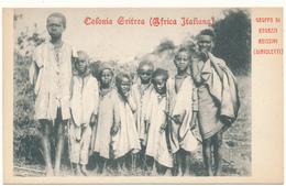 COLONIA ERITREA - Gruppo Di Ragazzi Abissini - Erythrée