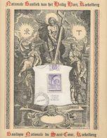 Belgique: Feuillet Souvenir BF 9 Obli - Cartes Souvenir