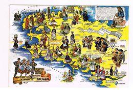 CPA 29 - Finistère - Géographie Folklorique Du Costume En Bretagne 1977 - Unclassified