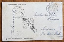 "SVIZZERA CARTOLINA DA LUCERNA A SCOFIANO SIENA ITALY  CON "" AFFRANCATURA AL VERSO "" Bilingue 5/9/11 - Stamps"