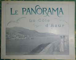 Le Panorama N°122 La Côte D'Azur - Monaco Monte-Carlo Par Reutlinger - Menton - Cannes - Nice - - Côte D'Azur