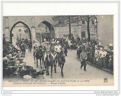 45 ORLEANS LES FETE DU 500 E ANNIVERSAIRE DE JEANNE D ARC  GRAND CORTEGE HISTORIQUE HERAUTS D ARMES CPA BON ETAT - Orleans