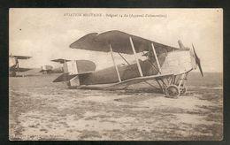 AVIATION MILITAIRE - Bréguet 14 As (Appareil D'observation) - AVION - 1914-1918: 1ère Guerre