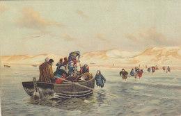 Landing Of Verotiers In The Bay Of Anthie , Stengel 29241 - Pittura & Quadri