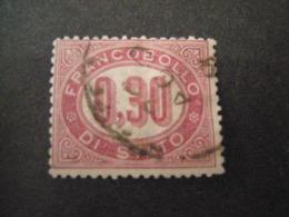 REGNO -1875,  Sass. N. 4, SERVIZIO, Cent. 0.30 Lacca, Usato, OCCASIONE - Servizi
