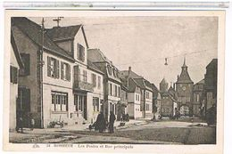 67  ROSHEIM    LES  POSTES  ET  RUE  PRINCIPALE   TBE   1J679 - Francia