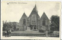 Moerbeke-Waas.  -   Kerk En Monument - Moerbeke-Waas