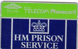 BT   Phonecard - HM Prison Service - Superb Fine Used Condition - Ver. Königreich