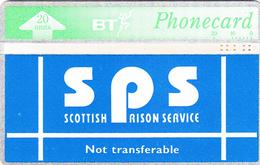 BT   Phonecard - Scottish Prison Service - Superb Fine Used Condition - Ver. Königreich