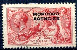Maroc  Bureaux Anglais    18  Oblitéré    Tous Les Bureaux - Oficinas En  Marruecos / Tanger : (...-1958