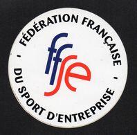 FEDERATION FRANCAISE DU SPORT D ENTREPRISE - Autocollant  - Ref: 1369 - Stickers