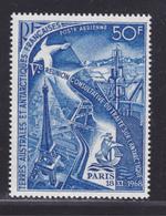 TAAF AERIENS N°   18 ** MNH Neuf Sans Charnière, TB (D5999) Traité International Sur L'Antartique - Poste Aérienne
