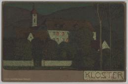 Ernst Liebermann - Kloster - Lithographie - Liebermann, Ernst