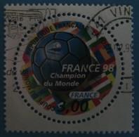 """France 1998  : """"France 98"""", Coupe Du Monde De Football N° 3170 Oblitéré - Frankreich"""