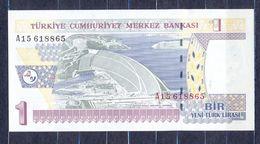Turkey - 2005 - 1bir -  P216...UNC - Turquie