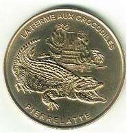 Monnaie De Paris 26.Pierrelatte - Ferme Aux Crocodiles 2002 - Monnaie De Paris
