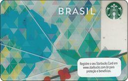 Brasil Starbucks Card BRASIL  2013 - 6096 - Gift Cards