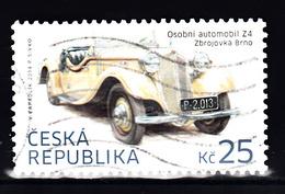 Ceska 2014 Mi Nr 808, Automobil Z4, Zbrojovka Brno - Gebruikt