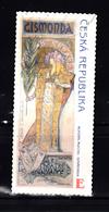 Ceska 2010 Mi Nr 633  Alfons Mucha - Gebruikt