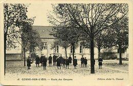 - Allier - Ref- C77- Cosne Sur L Oeil - Cosne D Allier - Ecole De Garçons -  Ecoliers - Ecoles - - France